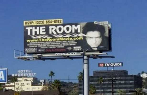 the room sign