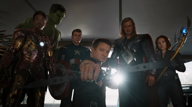 avengers pose